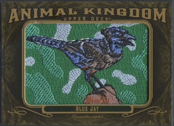 2011 Upper Deck Goodwin Champions #AK29 Blue Jay Animal Kingdom Patch