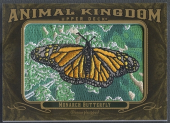 2011 Upper Deck Goodwin Champions #AK30 Monarch Butterfly Animal Kingdom Patch