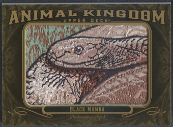 2011 Upper Deck Goodwin Champions #AK31 Black Mamba Animal Kingdom Patch