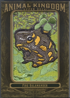 2011 Upper Deck Goodwin Champions #AK33 Fire Salamander Animal Kingdom Patch