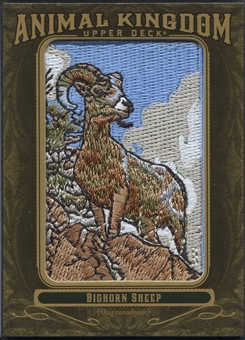 2011 Upper Deck Goodwin Champions #AK35 Bighorn Sheep Animal Kingdom Patch