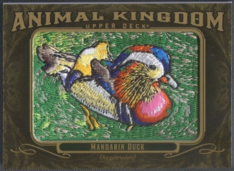 2011 Upper Deck Goodwin Champions #AK46 Mandarin Duck Animal Kingdom Patch