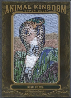 2011 Upper Deck Goodwin Champions #AK48 King Cobra Animal Kingdom Patch