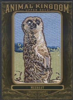 2011 Upper Deck Goodwin Champions #AK50 Meerkat Animal Kingdom Patch