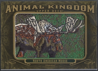 2011 Upper Deck Goodwin Champions #AK51 North American Moose Animal Kingdom Patch