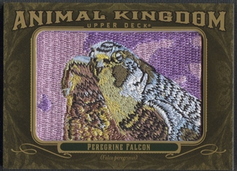 2011 Upper Deck Goodwin Champions #AK53 Peregrine Falcon Animal Kingdom Patch