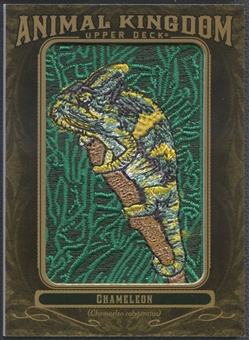 2011 Upper Deck Goodwin Champions #AK58 Chameleon Animal Kingdom Patch