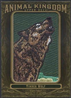 2011 Upper Deck Goodwin Champions #AK59 Timber Wolf Animal Kingdom Patch