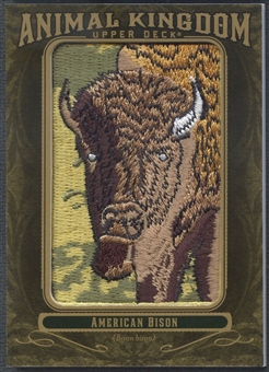 2011 Upper Deck Goodwin Champions #AK60 American Bison Animal Kingdom Patch
