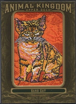 2011 Upper Deck Goodwin Champions #AK62 Sand Cat Animal Kingdom Patch