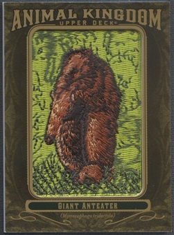 2011 Upper Deck Goodwin Champions #AK64 Giant Anteater Animal Kingdom Patch