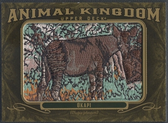 2011 Upper Deck Goodwin Champions #AK65 Okapi Animal Kingdom Patch