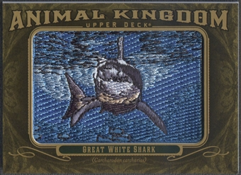 2011 Upper Deck Goodwin Champions #AK67 Great White Shark Animal Kingdom Patch