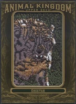 2011 Upper Deck Goodwin Champions #AK68 Cheetah Animal Kingdom Patch