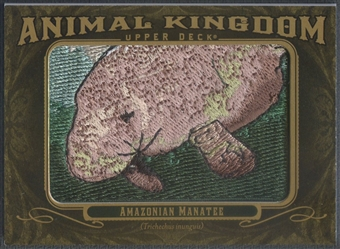 2011 Upper Deck Goodwin Champions #AK73 Amazonian Manatee Animal Kingdom Patch