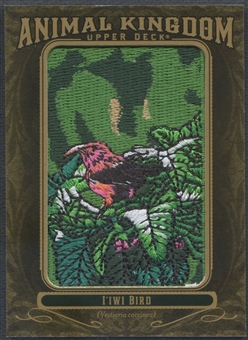 2011 Upper Deck Goodwin Champions #AK74 I'iwi Bird Animal Kingdom Patch