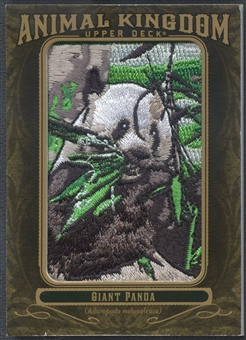 2011 Upper Deck Goodwin Champions #AK78 Giant Panda Animal Kingdom Patch