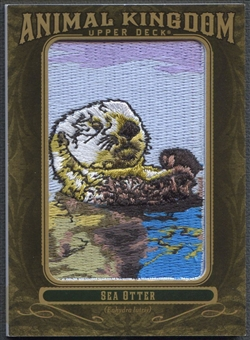2011 Upper Deck Goodwin Champions #AK79 Sea Otter Animal Kingdom Patch