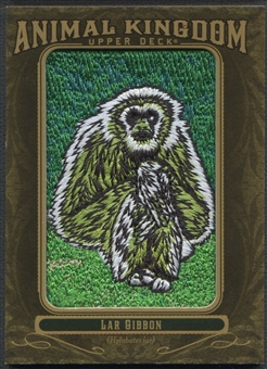 2011 Upper Deck Goodwin Champions #AK80 Lar Gibbon Animal Kingdom Patch