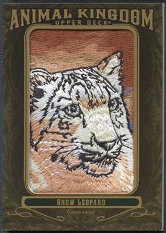 2011 Upper Deck Goodwin Champions #AK81 Snow Leopard Animal Kingdom Patch