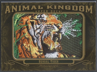 2011 Upper Deck Goodwin Champions #AK82 Bengal Tiger Animal Kingdom Patch