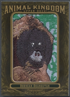2011 Upper Deck Goodwin Champions #AK84 Bornean Orangutan Animal Kingdom Patch
