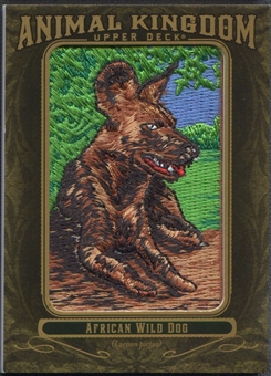 2011 Upper Deck Goodwin Champions #AK88 African Wild Dog Animal Kingdom Patch