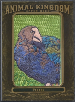 2011 Upper Deck Goodwin Champions #AK91 Takahe Animal Kingdom Patch