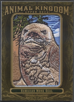 2011 Upper Deck Goodwin Champions #AK94 Hawaiian Monk Seal Animal Kingdom Patch