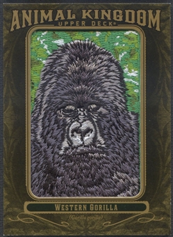 2011 Upper Deck Goodwin Champions #AK95 Western Gorilla Animal Kingdom Patch