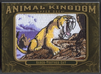 2011 Upper Deck Goodwin Champions #AK98 Saber-Toothed Cat Animal Kingdom Patch