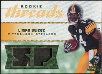 2008 Upper Deck SP Rookie Threads Rookie Threads Patch #RTLS Limas Sweed /15