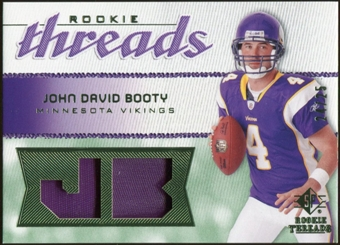 2008 Upper Deck SP Rookie Threads Rookie Threads Patch #RTJB John David Booty /25