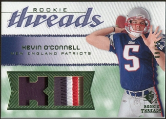 2008 Upper Deck SP Rookie Threads Rookie Threads Patch #RTKO Kevin O'Connell /25