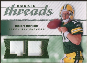 2008 Upper Deck SP Rookie Threads Rookie Threads Patch #RTBB Brian Brohm /75