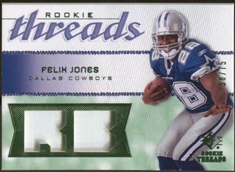 2008 Upper Deck SP Rookie Threads Rookie Threads Patch #RTFJ Felix Jones /75