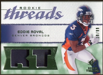 2008 Upper Deck SP Rookie Threads Rookie Threads Patch #RTER Eddie Royal /99