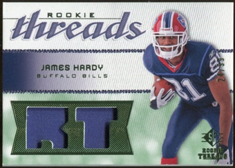 2008 Upper Deck SP Rookie Threads Rookie Threads Patch 99 #RTJH James Hardy /99