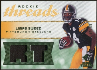 2008 Upper Deck SP Rookie Threads Rookie Threads Patch 99 #RTLS Limas Sweed /99