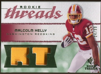 2008 Upper Deck SP Rookie Threads Rookie Threads Patch #RTMK Malcolm Kelly /99
