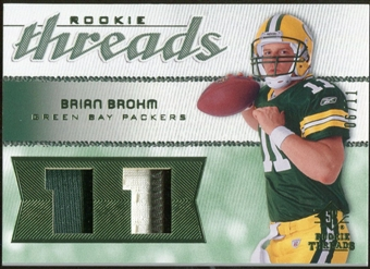2008 Upper Deck SP Rookie Threads Rookie Threads Patch Jersey Number #RTBB Brian Brohm /11
