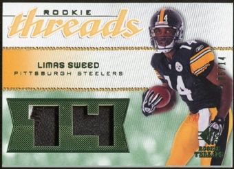 2008 Upper Deck SP Rookie Threads Patch Jersey Number #RTLS Limas Sweed /14