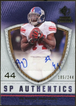 2008 Upper Deck SP Rookie Threads SP Authentics #SPAB Ahmad Bradshaw Autograph /244