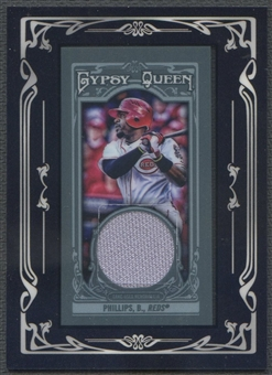 2013 Topps Gypsy Queen #BP Brandon Phillips Framed Mini Relics Jersey