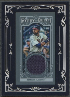 2013 Topps Gypsy Queen #JH Jason Heyward Framed Mini Relics Jersey