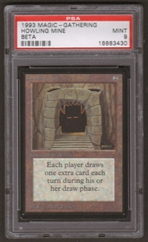Magic the Gathering Beta Single Howling Mine PSA 9