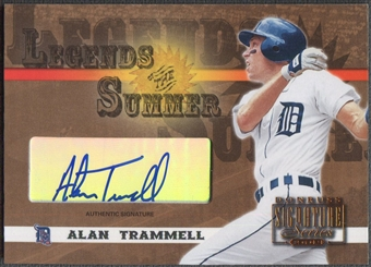 2003 Donruss Signature #2 Alan Trammell Legends of Summer Auto