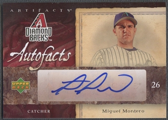 2007 Artifacts #MM Miguel Montero Autofacts Auto