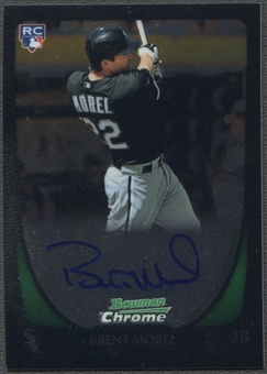 2011 Bowman Chrome #196 Brent Morel Rookie Auto
