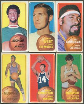1970/71 Topps Basketball Complete Set (GOOD)